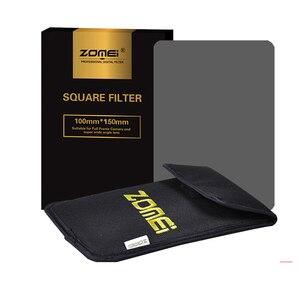 Image 5 - Квадратный фильтр Zomei 100 мм x 150 мм, градиентный Серый фильтр с нейтральной плотностью GND248 ND16 100 мм * 150 мм 100x150 мм для фильтра серии Cokin для Cokin