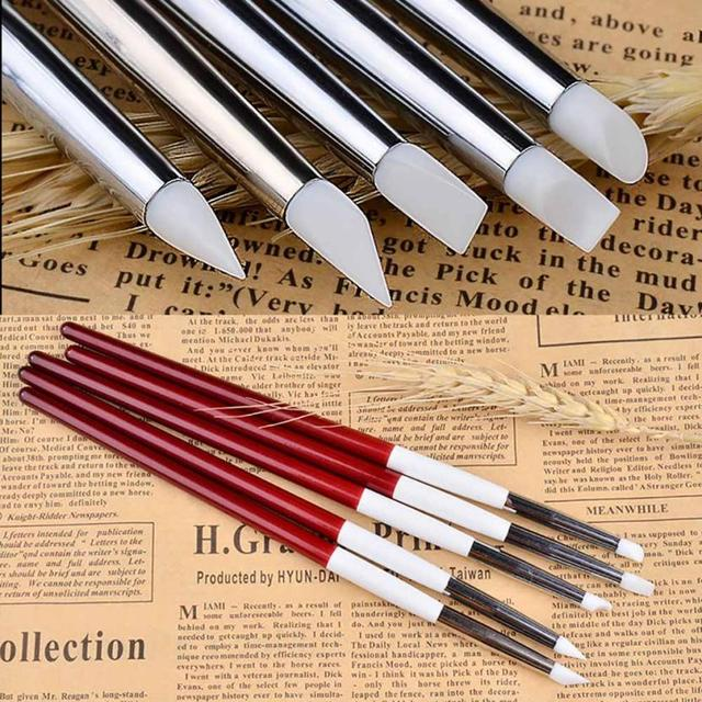 4Pcs Diamonds Makeup Brush Set Professional Face Eye Shadow Eyeliner Foundation Blush Lip Makeup Brushes DE02 Drop shipping