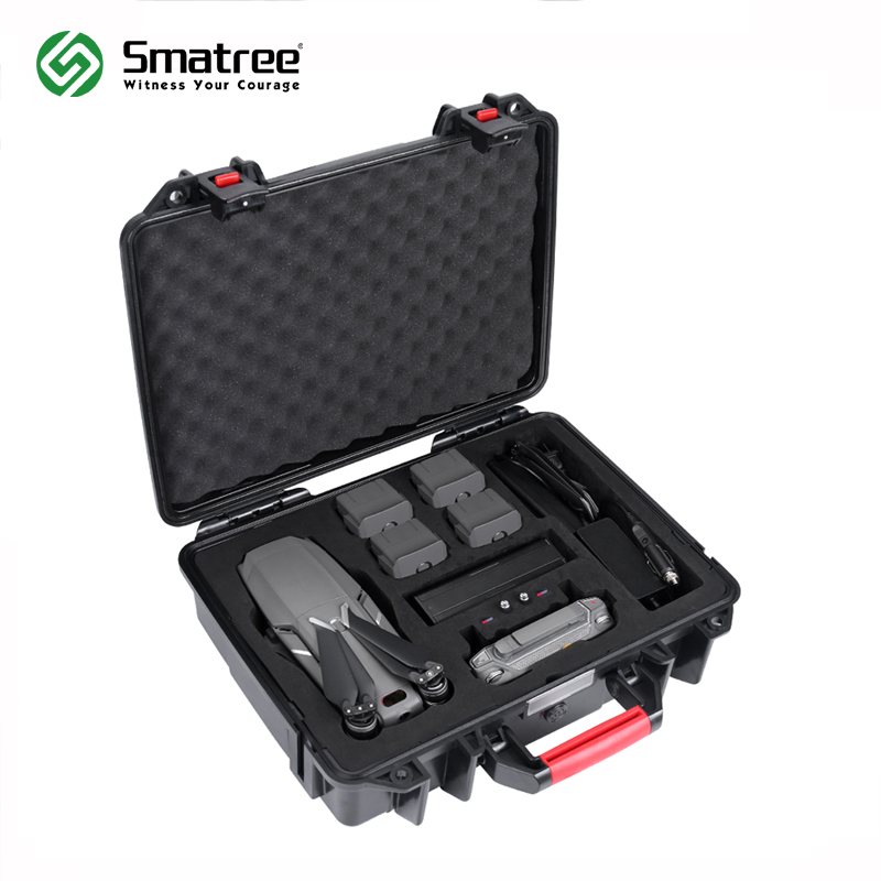 Smatree Waterproof Carrying Case Compatible for DJI Mavic 2 Pro/DJI Mavic 2 Zoom Fly More Combo квадрокоптер dji mavic air fly more combo с камерой красный