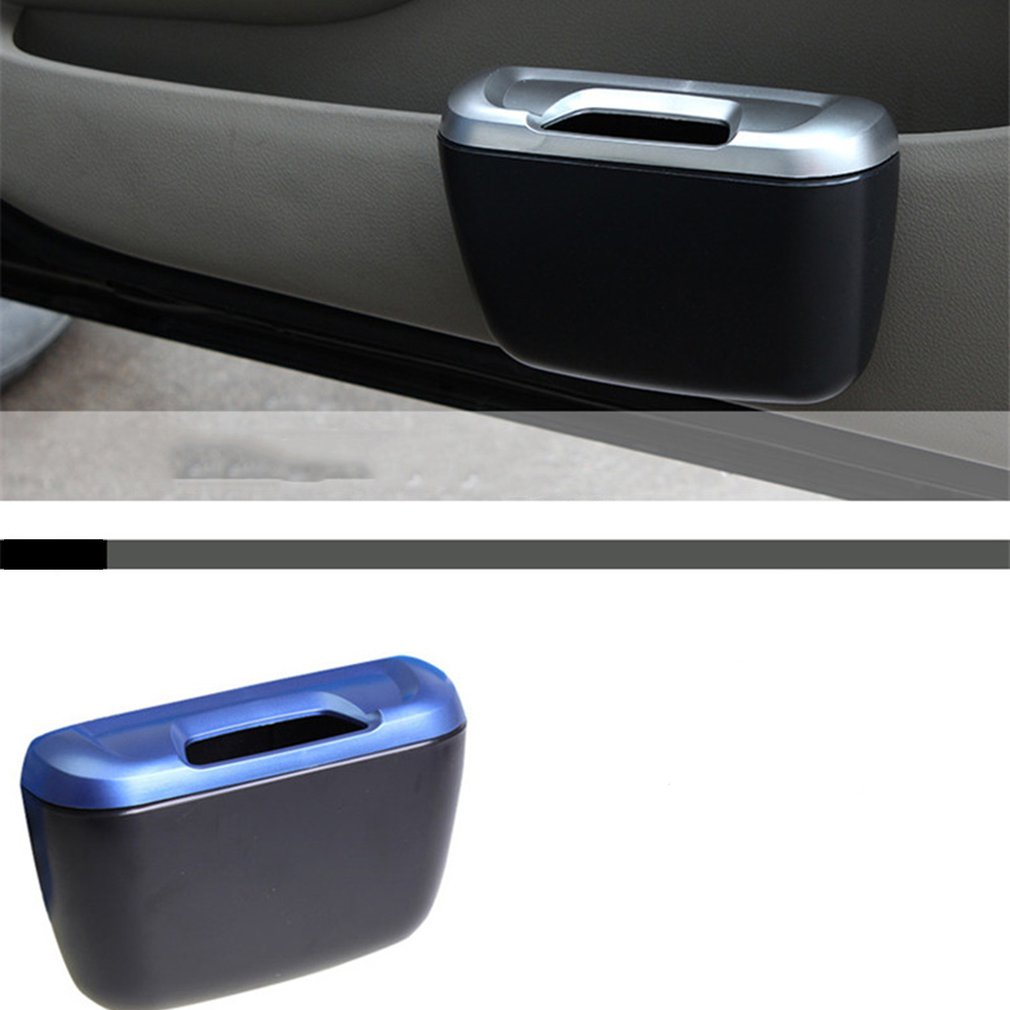 Image 5 - Portable Plastic Car Storage Box Car Seat Gap Pocket Phone Holder Organizer, Side Pocket Trash Garbage-in Stowing Tidying from Automobiles & Motorcycles