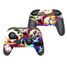 Game Splatoon 2 Protector Vinyl Cover Decal Skin Sticker for Nintendo Switch NS Pro Game Controller