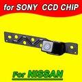 Câmera de estacionamento retrovisor volta inversa cam para Nissan PAL NTSC (Opcional) à prova d' água visão noturna