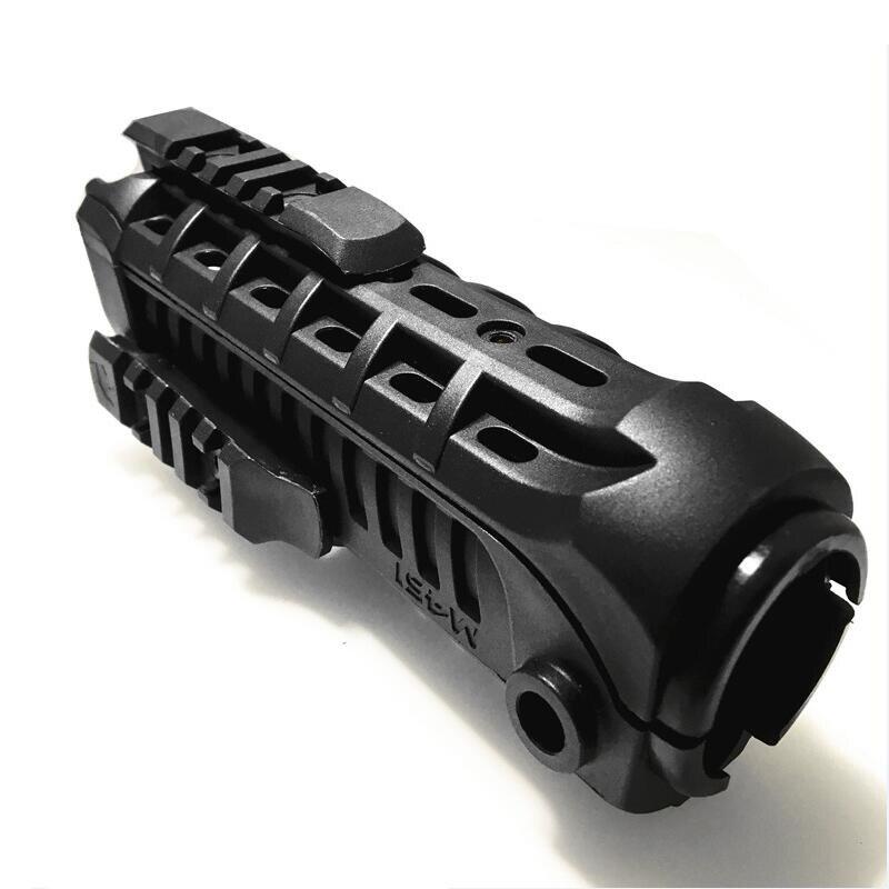 التكتيكية مو قفازات واقية لليد 7 بوصة Airgun النايلون البلاستيك MP Handguard ل M4 AK الصيد ملحقات المسدس