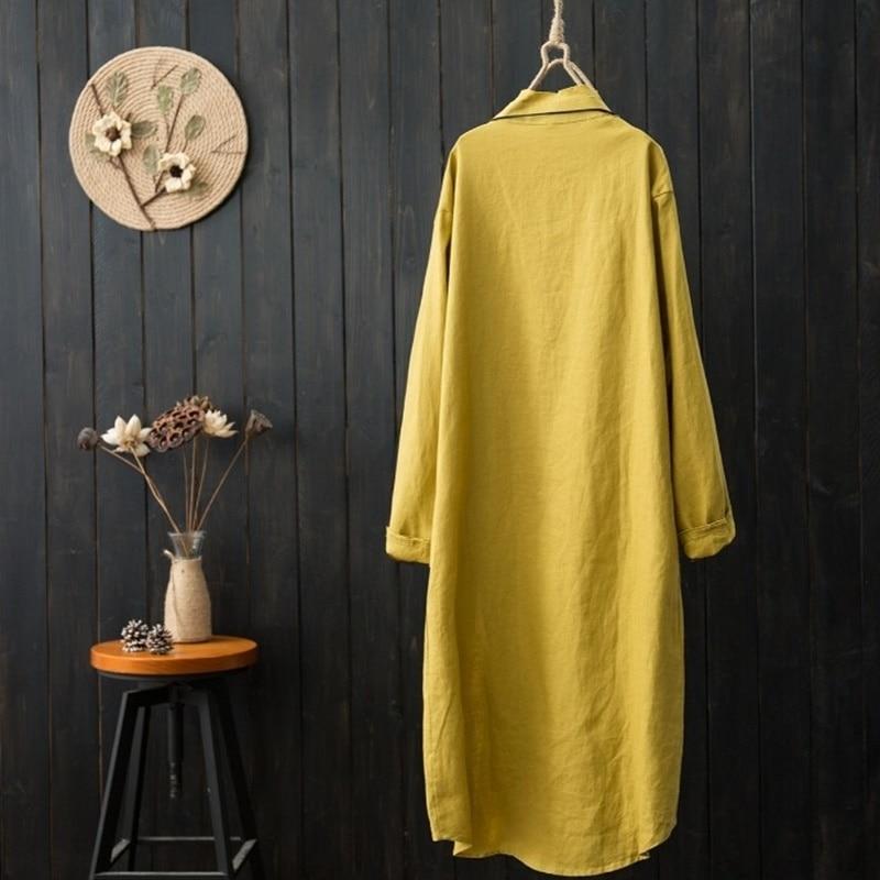 Ropa Tops Estilo 2018 2 Camisa Blusa Mujeres 1 Kimono 3 Amarillo Larga Largo Aa4344 Blusas Y Chino 4 Mujer wRqBx1BY