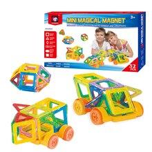 DOOLNNG 32PCS Magnetic Constructor Designer Toys For Girls And Boys Building Blocks 3D Educational DIY Bricks
