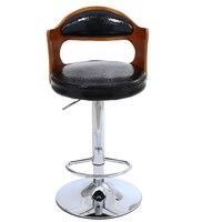 Bar Chair Wood Chair Fashion Bar Stool Bar Stool Chair Lift Home