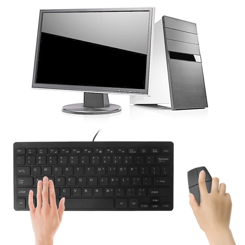buy mini ultra thin quiet 104 keys multimedia usb wired keyboard for laptop. Black Bedroom Furniture Sets. Home Design Ideas