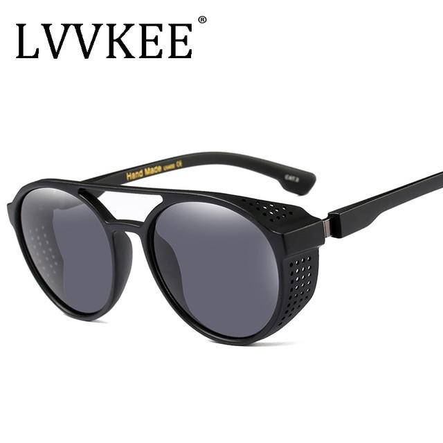 426c2a88af2 2018 Brand Steampunk Designer Women Square Luxury Sunglasses men Oversize  Retro Unique Clear Female Sun glasses Big Frame