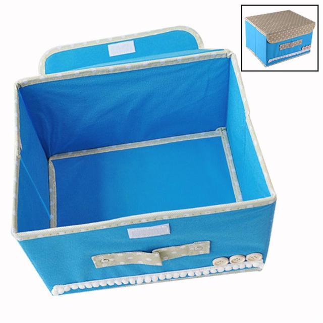 Плюс Размер 2016 ГОРЯЧИЕ ПРОДАЖА Складные 12 Сетка Storage Box Для Бюстгальтер, Нижнее Белье, Носки 38*24.5*24 СМ Нетканый материал