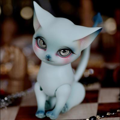 Boneca BJD 1/8 Lucy aileen gato bonecos de animais de estimação