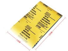 3M sanding paper, Wetordr Abrasive Sandpaper, waterproof abrasive sheet for finer applications 1 pcs retail