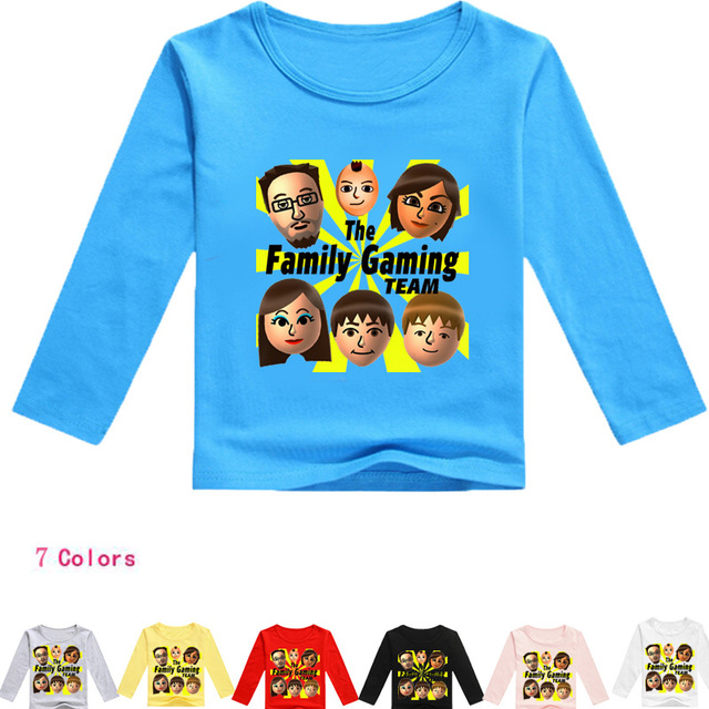 2ee0d91d07571 Hot sale Summer FGTeeV Faces Kids T Shirts for boys girls tops tees Youth  Youtube Family Gaming teens roblox t-shirt WX1277