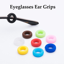 10 Pairs Eyeglasses Ear Grips Anti Slip Ear Hook Eyeglass Eyewear Acces