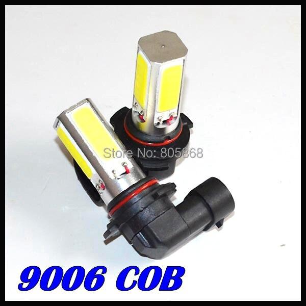50X лампа высокой мощности 9006 9005 светодиодный Белый COB светодиодный противотуманный светильник для автомобиля светодиодный SMD Лампа дневного вождения авто противотуманная фара h11 20 Вт автомобильный головной светильник