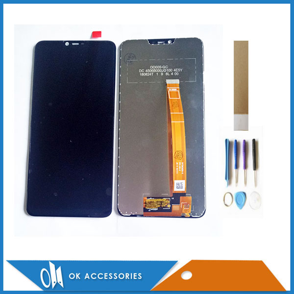 6.2 Inch For OPPO A3S LCD Display For OPPO A2 Pro LCD Display With Touch Screen Digiziter Glass Sensor Assembly With Tools Tape