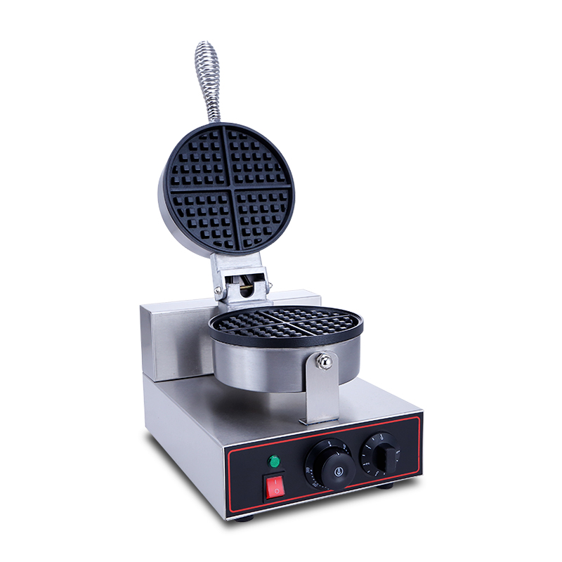 Thickened Muffin Bubble Waffle Maker Machine Lattice Q Cake Electric Baking Pan Cake Scones Machine Spiral Double-sided Heating стоимость