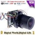 Модуль камеры видеонаблюдения камера поддержка wi-fi порт звуковой сигнализации RS485 портов ip камера 1080 P мини ptz модуль моторизованный зум kamera
