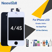 Grade AAA+ Screen LCD For iPhone 4S 4 Screen Replacement Screen Display Good 3D Touch Quality 4S 4 LCDS