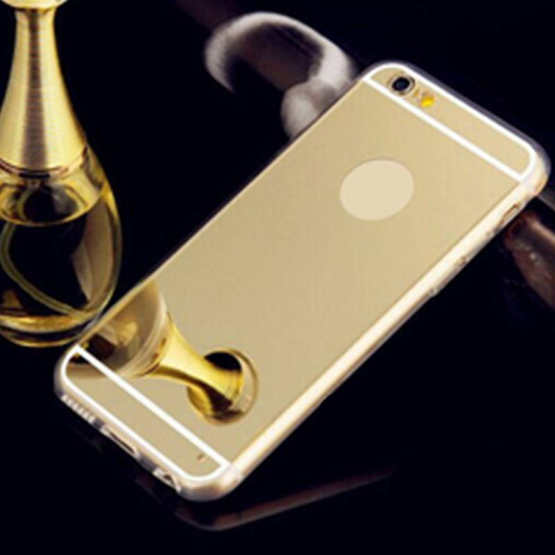 Ультра тонкий Ясно Зеркало ТПУ мягкий чехол Обложка кожи бампер для Apple iPhone 5/5S 6/6S/ 6 plus/для iPhone 7/плюс