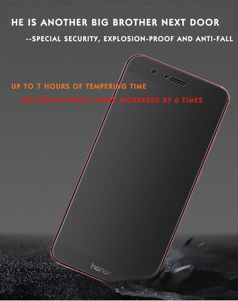 Matowy ochraniacz ekranu dla Huawei honor 9 lite szkło hartowane dla honor 9 lite 10 folia ochronna szkło na honor 9 lite IIRROONN 8