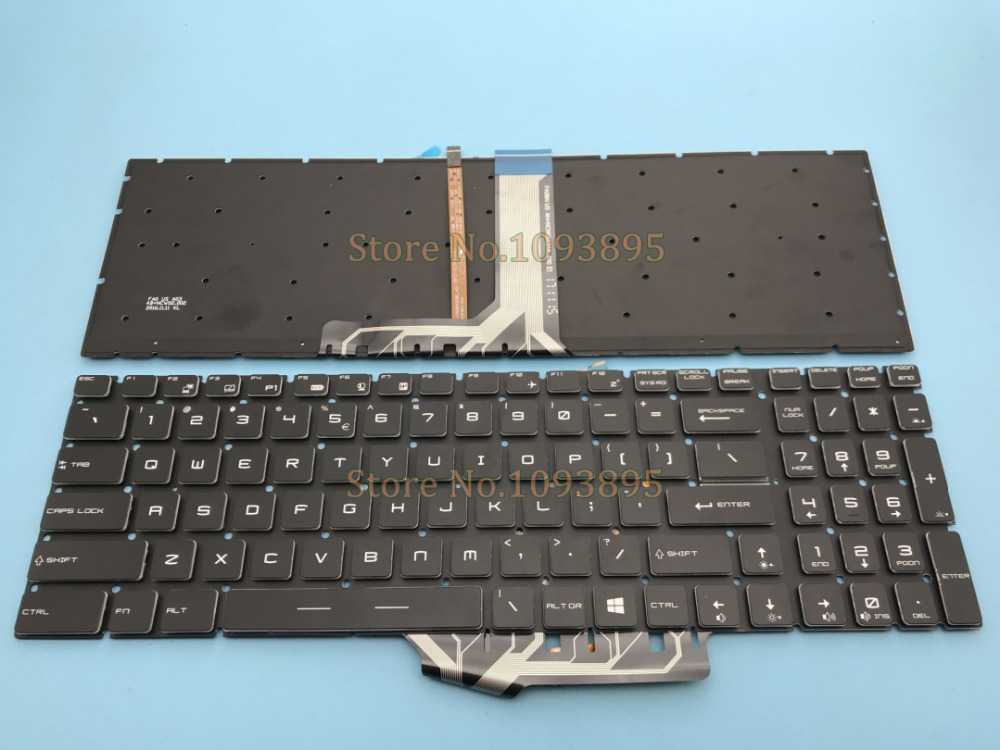 NEW English keyboard For MSI GS60 GS70 GE62 GE72 GT72 MS 16J1 MS 16J2 MS 1781