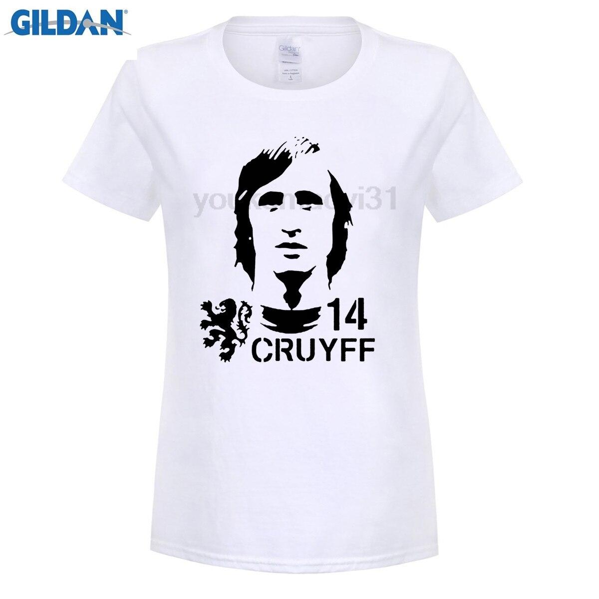 funny woman t shirt Hendrik Johannes Cruyff Holland Nederland Ajax  The Godfather 100% cotton t shirt (2) 3