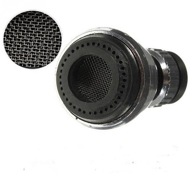360 Rotating Faucet Extender Bathroom Kitchen Bubbler Splash-proof Headband Valve Pressure Reducing Water Spout Water Saver