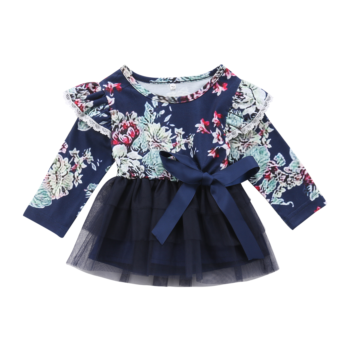 foto de Little Big Sister Infant Baby Girl Clothing Floral Party