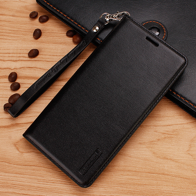 10Pcs Flip Leather Case For OPPO A1 A3 A39 A57 A59 A71 A75 A77 A83 Hang Rope Series Genuine Wallet Card Slot Case Cover