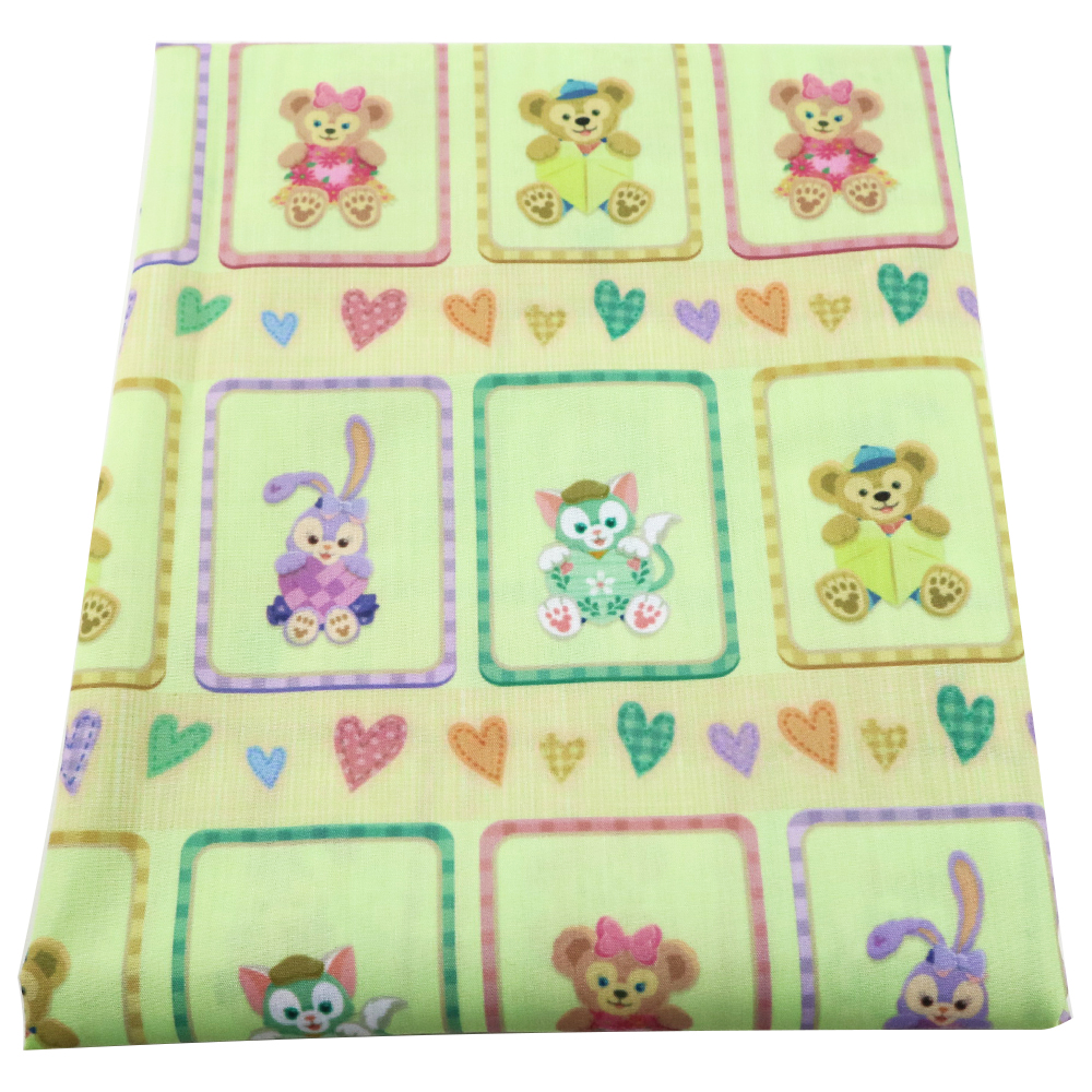 David Accessories 50 145cm Patchwork Polyester Cotton Fabric Diy Kids Bedding Handwork Crafts