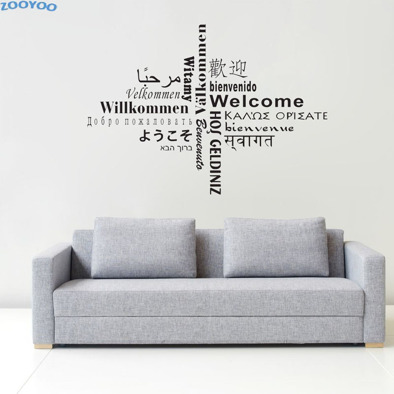 Awesome Muursticker Tekst Woonkamer Contemporary - Ideeën Voor Thuis ...