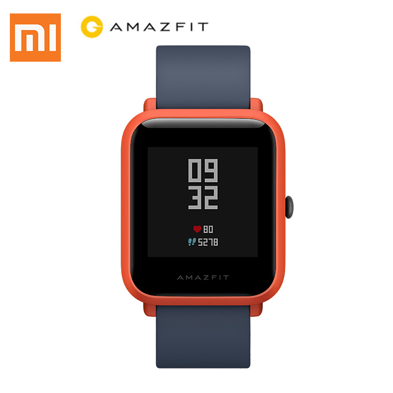 Xiaomi Huami Amazfit Smart Watch Youth Edition Bip Bit Pace Lite Youth Sport Version Android IOS Mi Fit IP68 Waterproof GPS умные часы huami amazfit bip youth edition оранжевый