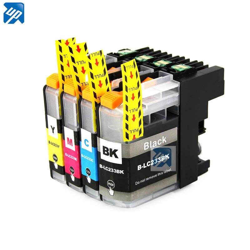 4PK LC233 XL картриджи с чернилами для брата MFC-J4620DW J5320DW J5720DW DCP-J4120DW Картридж для струйного принтера
