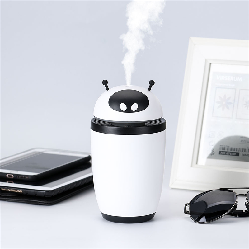 500ML Mini Portable USB Air Humidifier Silent Electric Mist Maker Fogger Diffuser SPA Air Purifier Fresher For Car Home Office portable mini usb humidifier ultrasonic 160ml cool mist car air purifier for bedroom office house desktop spa baby kids