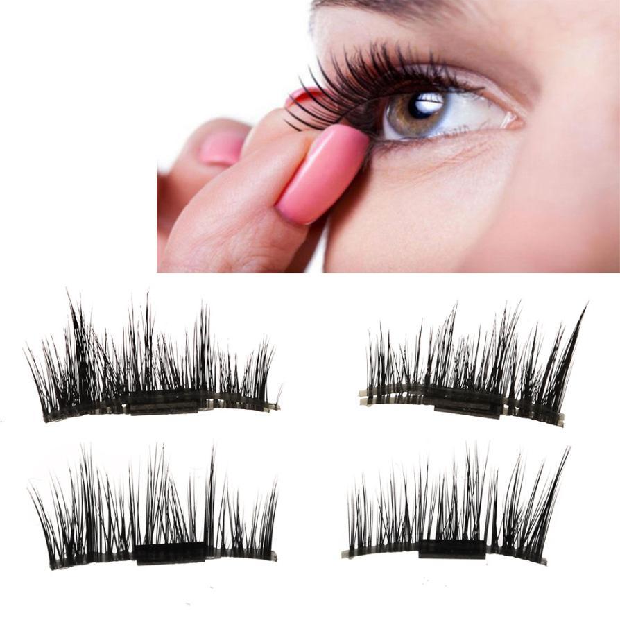 97ef8f8ef5b New 1 Pairs eye lashes natural wispies false eyelashes machine made makeup  fake eyelashes make up eyelash extension magnetic-in Makeup Scissors from  Beauty ...