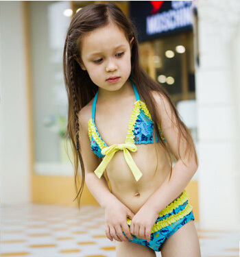 2ee24048ed kids string bikini 2015 summer beach cute bikini swimsuit 5 12 years girl s  swimwear hotsale on Aliexpress.com