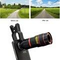 2017 Clips Universal 8X de Zoom Telefoto Telescópio Óptico de Lentes Da Câmera Do Telefone lente para iphone samsung xiaomi redmi 2 3 s 4 nota 3