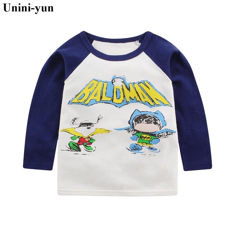 Children T shirt for Boys Clothing Baby Boys Autumn Tops Tee Shirt T-shirt Kids Clothes Boy Tshirt Spring baby girl clothes