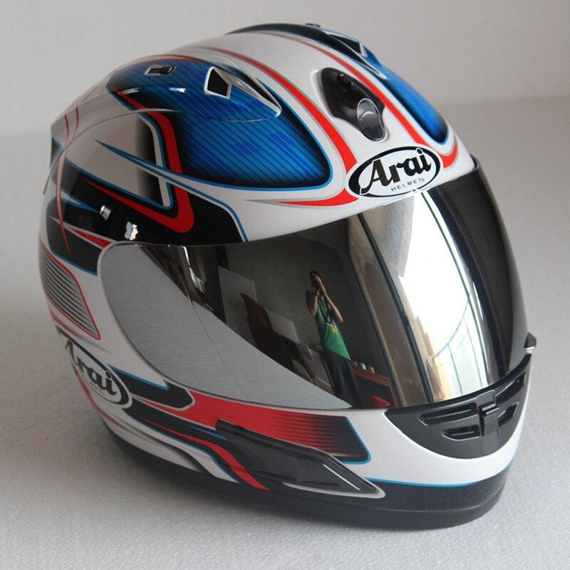 Casque Arai Rx7-casque de course top RR5 pedro moto rcycle casque intégral moto rcycle, capacete, casque de moto - 2