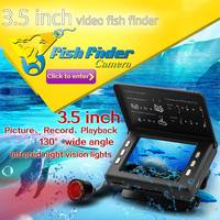 3 5 Portable DVR Underwater Cam Fishing Finder Video Camera Portable English Display Fishfinder