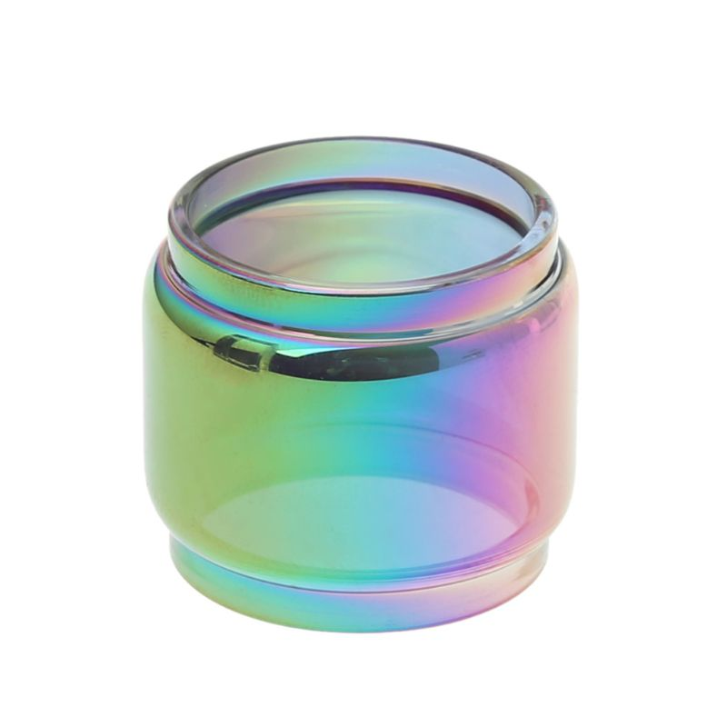 <font><b>TFV12</b></font> <font><b>Prince</b></font> 8ml Extended Replacement <font><b>Bulb</b></font> <font><b>Glass</b></font> + Rainbow Drip Tip DIY Atomizer image