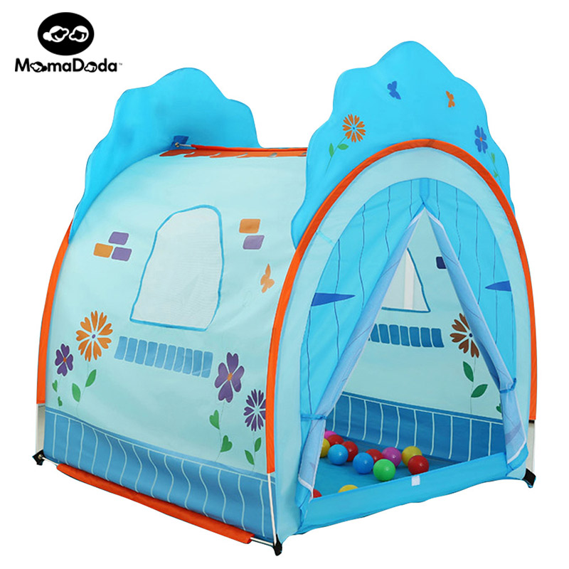 Baby Playpen Princess House kids Crawl Toy  House  Safety Portable Ocean Ball Pool Play Tent  Children Fencing Teepee Best Gift 3 in 1 portable baby playpen children kids ball pool foldable pop up play tent tunnel play house hut indoor outdoor toys fancing