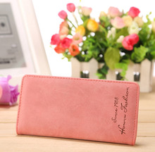 Women Wallets Scrub Purses Long Wallets  For Student Girl Ladies Money Coin Pocket Card Holder Female Wallets Clutch Bags wallets href