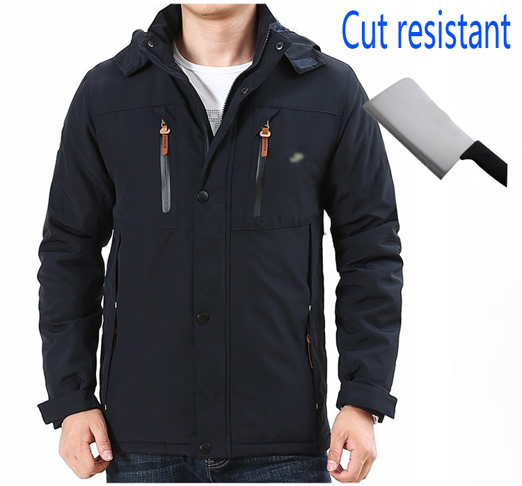 Self Defense Tactical Anti Cut Knife Cut Resistant Denim Jacket Anti Stab Proof Cutfree Stabfree Military Security Jeans Coat 2019 Latest Style Online Sale 50% Jackets & Coats Jackets