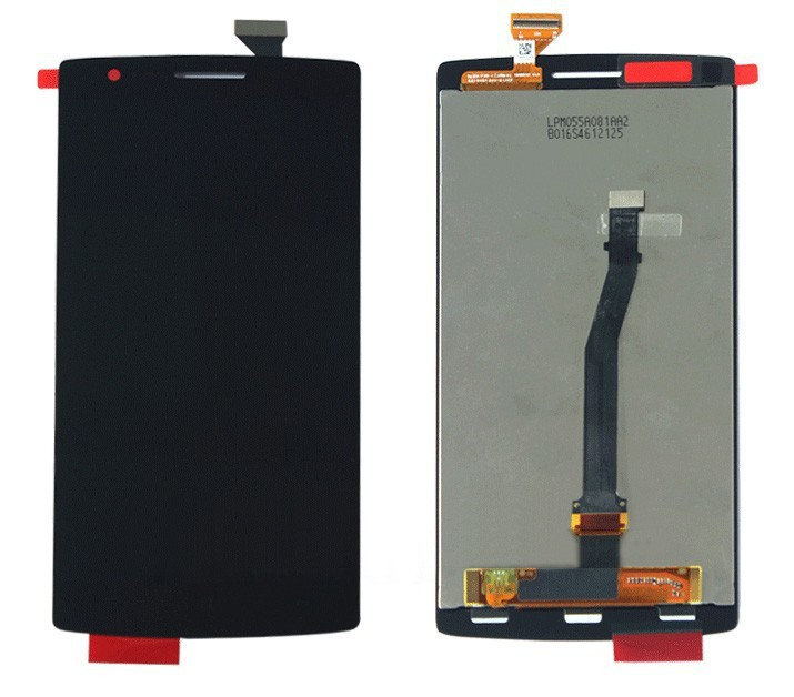 ФОТО For Oneplus One LCD Display Touch Screen Flex Cable Digitizer Assembly Parts for OnePlus One 1+ One