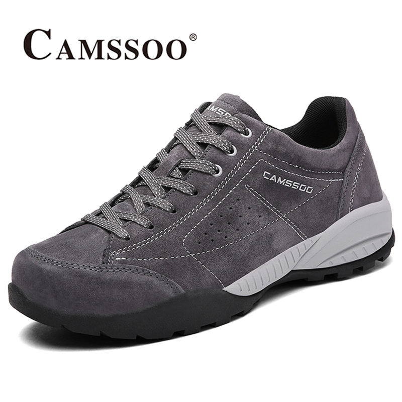 2017 Camssoo Mens Walking Shoes Breathable Light Weight Outdoor Sports Shoes Non-slip Travel Shoes For Men Free Shipping 6086