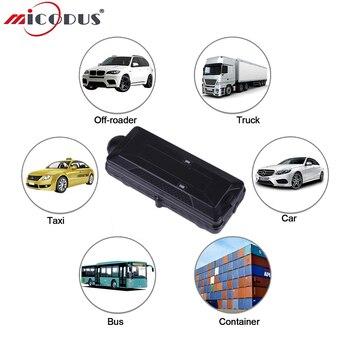 Автомобильный GPS трекер TK10G 3G WCDMA автомобильный локатор слежения Мощный магнит SD офлайн регистратор данных 10000mAH Водонепроницаемый WIFI положе