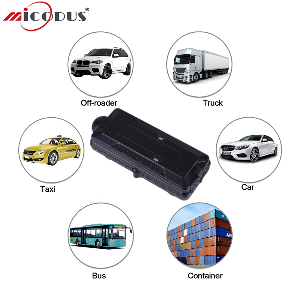 Vehicle GPS Tracker TK10G 3G WCDMA Car Tracking Locator Powerful Magnet SD Offline Data Logger 10000mAH Waterproof WIFI Position