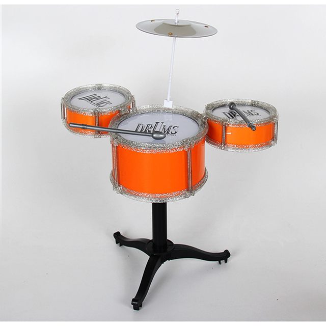12Pcs Educational Kids Roll Drum Set Musical Instruments Band Kit Children Toy Baby Kids Gift Christmas New Year Gift