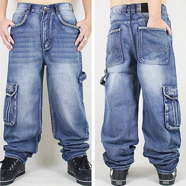 Washing Men Baggy Jeans Mens Hip Hop Jeans Long Loose fashion trend Skateboard Baggy Relaxed Fit Jeans Men Street dance Pants 5 drawer knobs pull handles dresser knob pulls handles antique black silver furniture hardware kitchen cabinet door handle pull